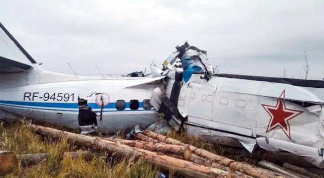 स्कायडायव्हर्सला घेऊन जाणाऱ्या विमानाचा अपघात>
